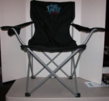 Base Jumping Embroidered Chair